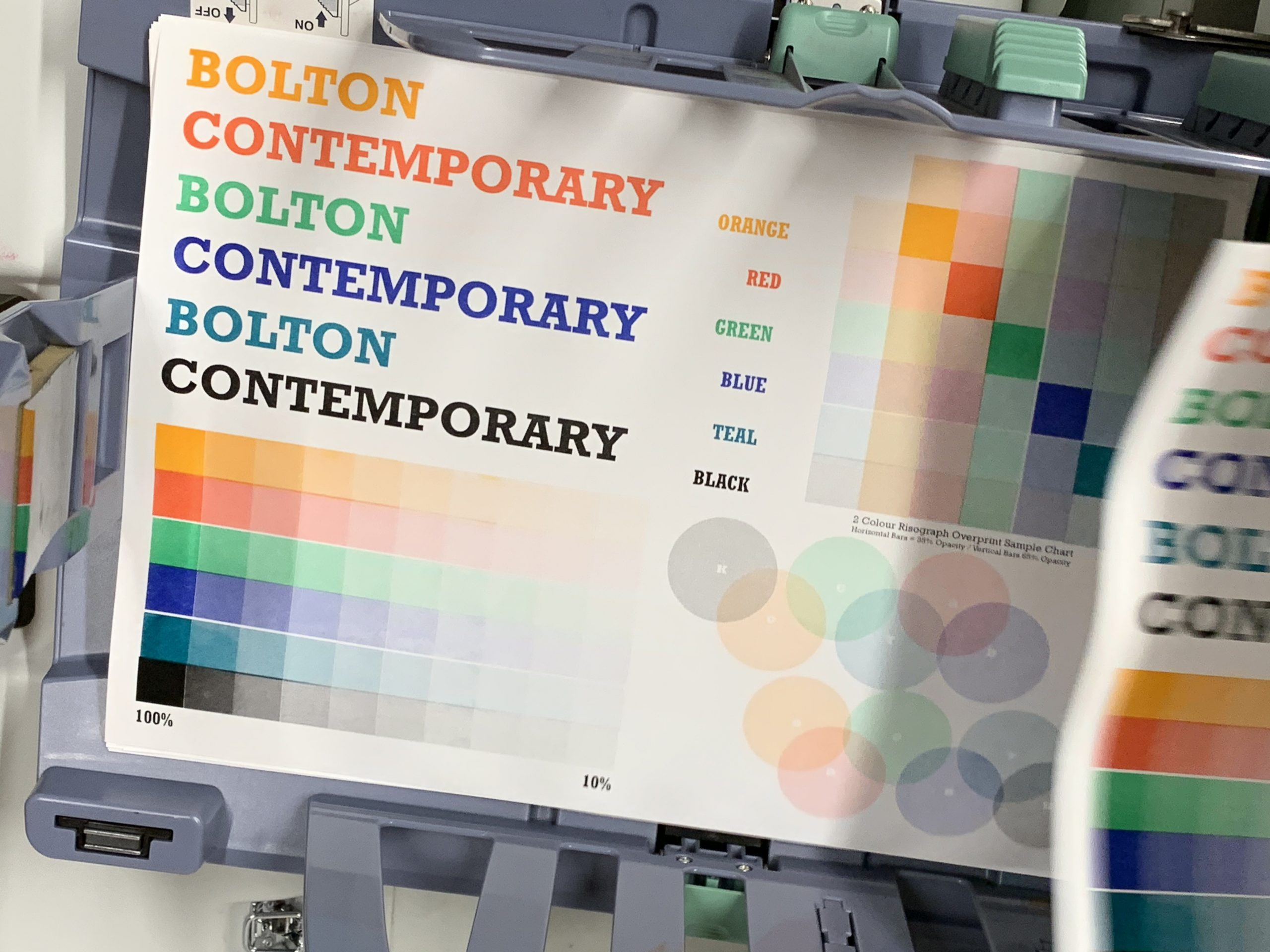 Bolton Contemporary Colour Chart